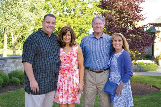Rich and Michele Sniscak, and Bob and Donna Steckel.JPG