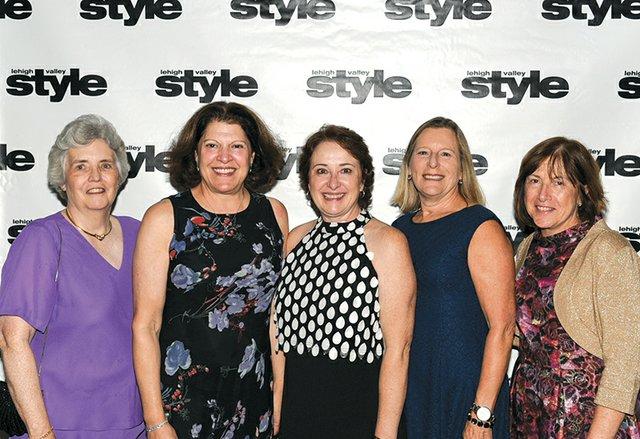 Susan Seccombe-Cox, Laurie Bechhold Watson, Joan Brodhead, Evan Skinner and Nancy Cleff.jpg