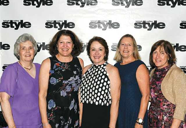 Susan Seccombe-Cox, Laurie Bechhold Watson, Joan Brodhead, Evan Skinner and Nancy Cleff.jpg
