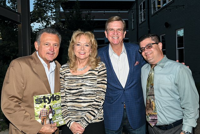 Jon and Debbie Kleckner, John Wilchek and Brian Panella.jpg