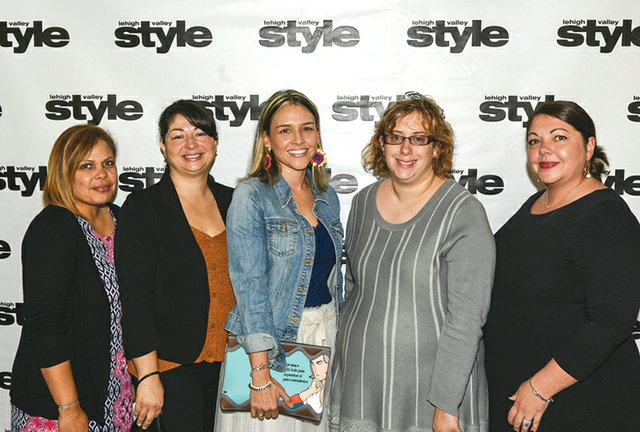 Virna Rodriguez, Laura Sanchez, Maria Mora, Dominique Michael and Karma Strydesky.jpg