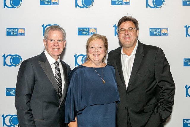 Bill and Denise Spence, and Vince Gill.jpg