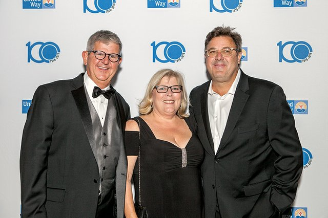 Tom and Cathy Lynch, and Vince Gill.jpg