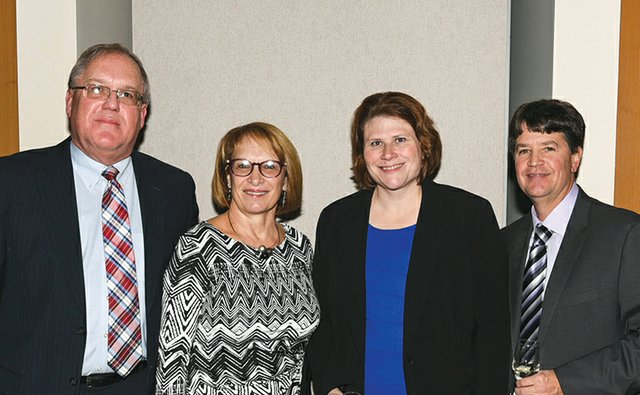 Brian and Vickie Kahler, and Tara and Jeff Bender.jpg