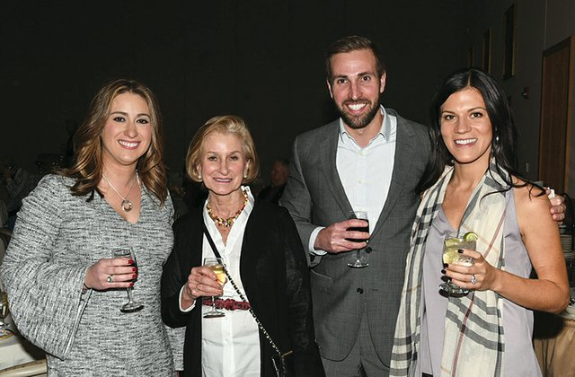Pam Koons Hartnett, Mary Anne Johnson, Brian Koons and Brittany Ubel.jpg