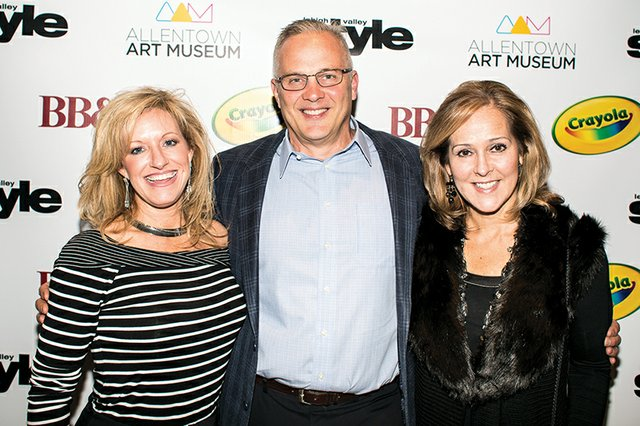 Julie Profilet Saucier, and Mark and Denise Smith.jpg