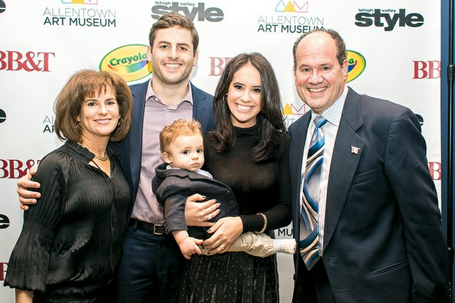 Laurie Lesavoy, Joey and Haley Zimring with Aaron Zimring, and Buddy Lesavoy.jpg