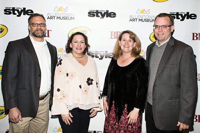 Nick and Kim Rompilla, Colleen Mooney McGee and Paul McGee.jpg