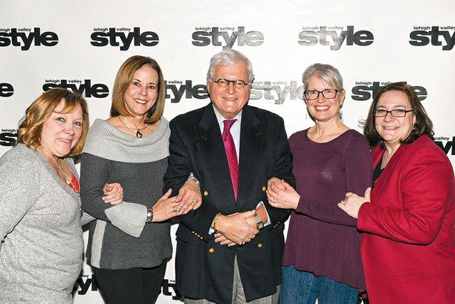 Amy Natysyn, Carol DeRemer, Joe Pascal, Kathy Baltsar and Vickey Dickert.jpg