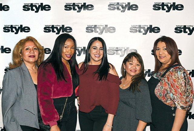 Luz Mila, Cherrell King, Yanitza Galvan, Jenna Domenico and Maria Mangual.jpg