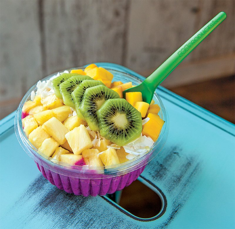 Try This Electric Mermaid Bowl - Lehigh Valley Style