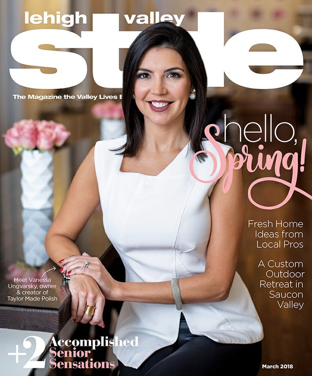 March 2018 Cover of Lehigh Valley Style