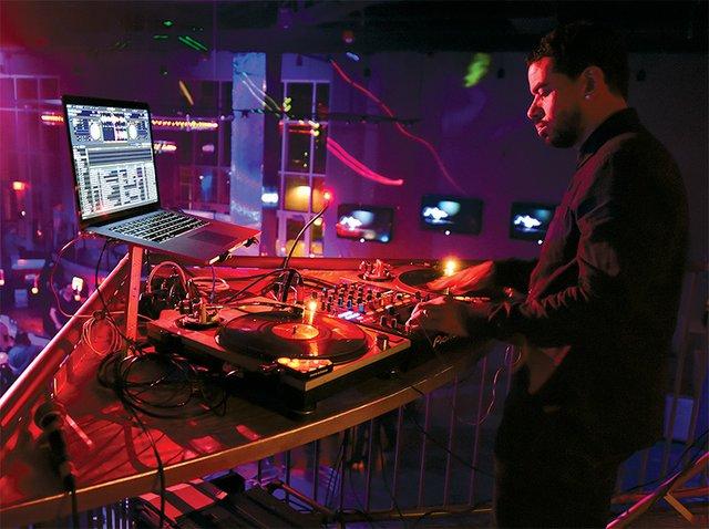 DJ at Vision