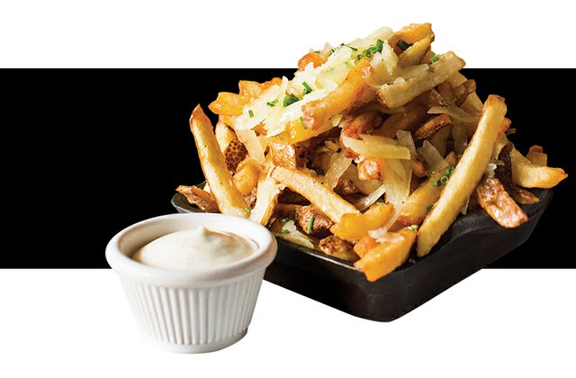 """""""Crack Fries"""" from Tapas on Main"""