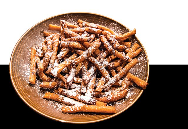 Funnel Cake Fries at Alburtis Tavern