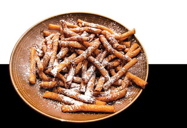 Funnel Cake Fries at Alburtis Tavern