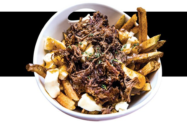 The Flying V food truck French fries