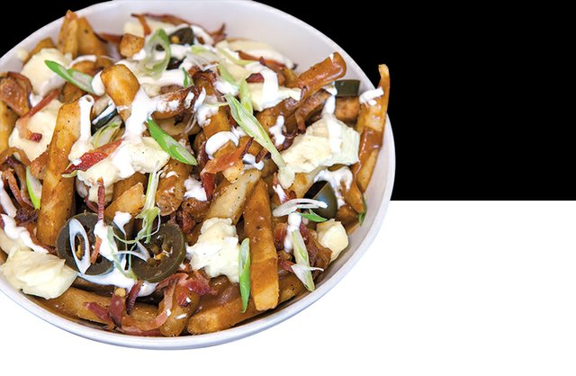 Union and Finch's Loaded Fries
