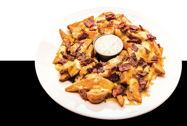 Copperhead potato wedges
