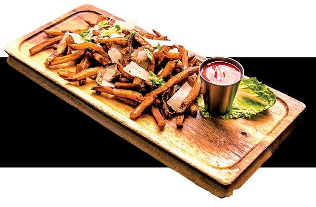 The Broadway Social Fries