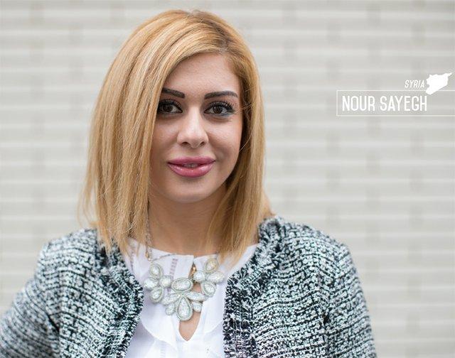 Portrait of Nour Sayegh