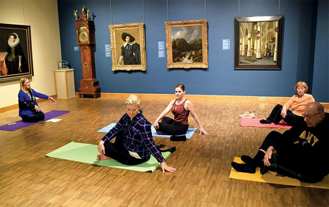 Art Yoga at Allentown Art Museum