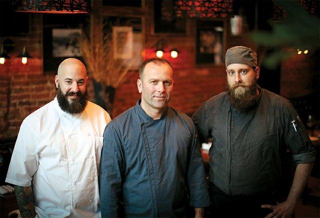 Ryan Kor, Bekim Gjevukaj and Steve Schwier