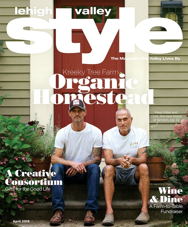 April cover of Lehigh Valley Style