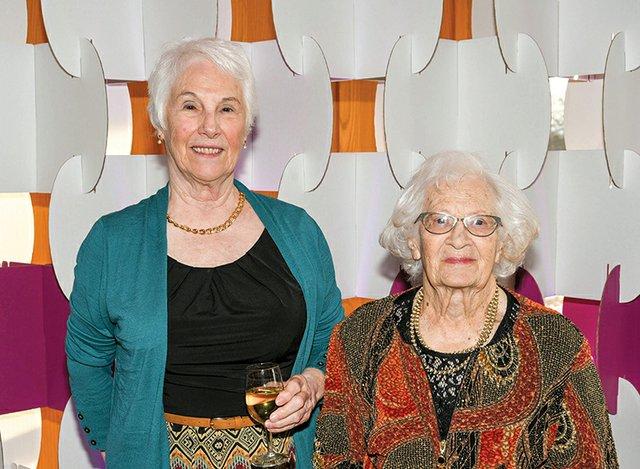 Sandra Davis and Doris Bova.jpg