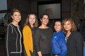 Renae Yeager, Allison Hentz, Lisette Santana, Carol Obando-Derstine and Tinku Khanwalkar.jpg