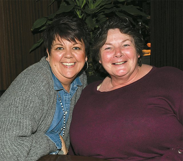 Lyn Hufton and Gail Hoover (right)