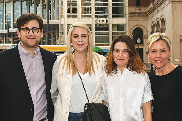 Hillman and Amy Terzian, Deb McElroy and Carly Zavacky.jpg