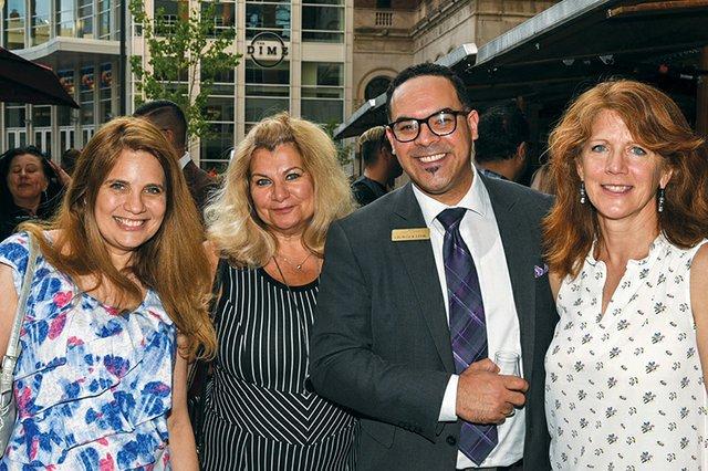Sheri Bayne, Stella DeSantis, George Lehr and Susan Justus.jpg