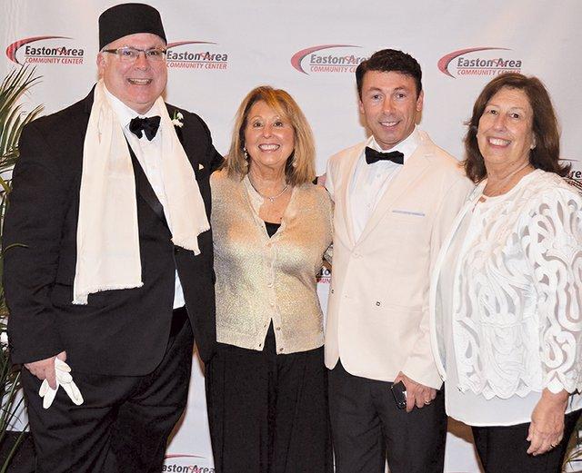 Maurice Luker, Joan Kicska, Giuseppe Curto and Kathy Presto.JPG
