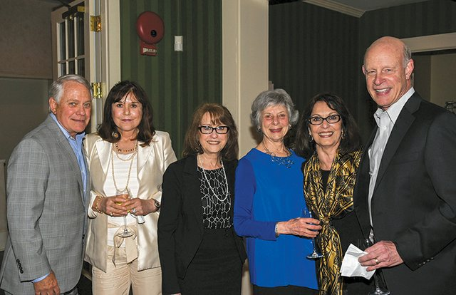 Phil and Linda Mitman, Marie Calandra, Kay Wolff, Joanne D'Agostino and Marshall Wolff.jpg