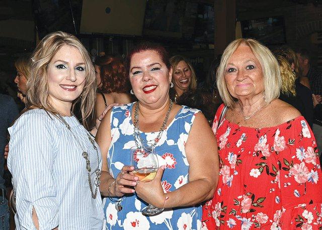 Olympia Jones, Wanda Osorio and Linda Pergine.jpg