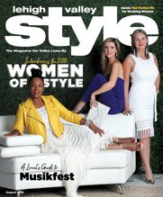 August Cover of Lehigh Valley Style