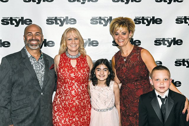 Nadder Nejad, Pam Formica, Guiliana Giannone, Connie Nejad and Reilly Shimko.jpg