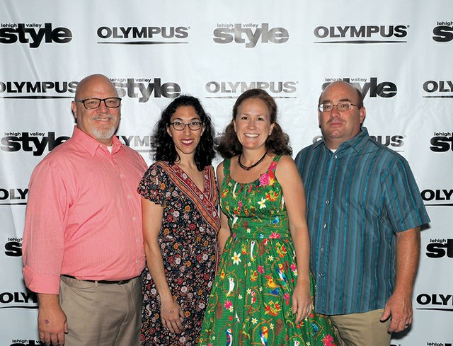 Tim Brooks, Leila Sehat, and Clare and Michael Papay.jpg