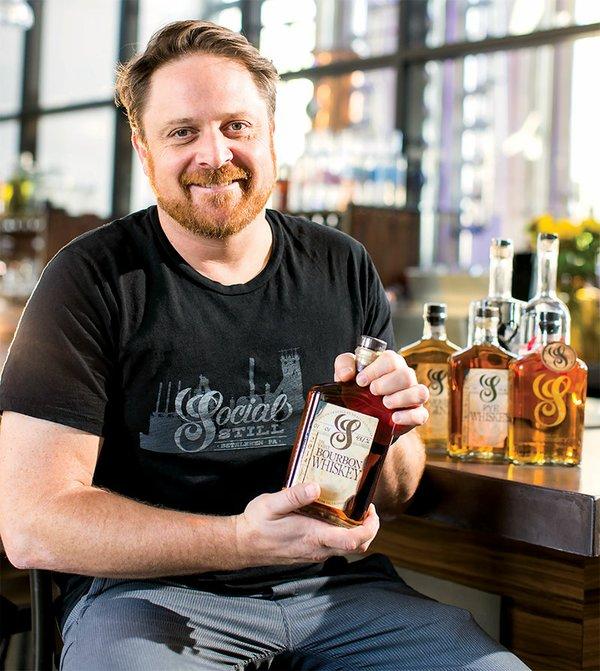 Adam Flatt, Owner of Socal Still
