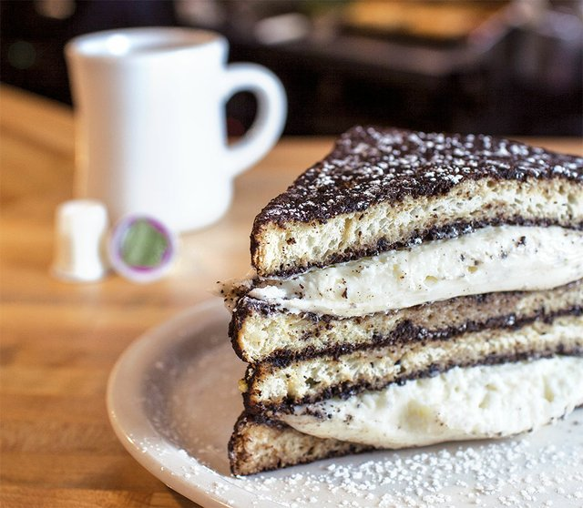Oreo-Stuffed French Toast from Roasted
