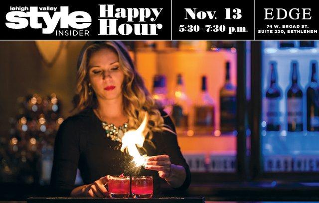 November 2018 Happy Hour at Edge
