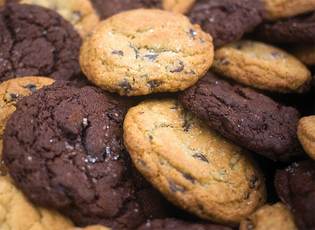 Chocolate Cherry Cookies from Frecon Farms