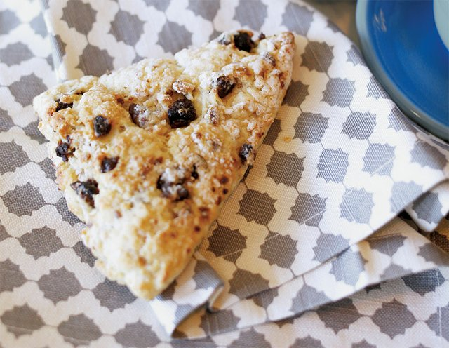 Sour Cherry Toasted Scone from Jumbars