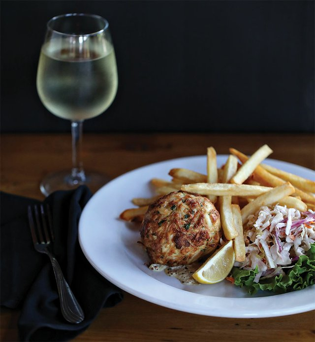 Jumbo Lump Crab Cake from The Grille at Bear Creek