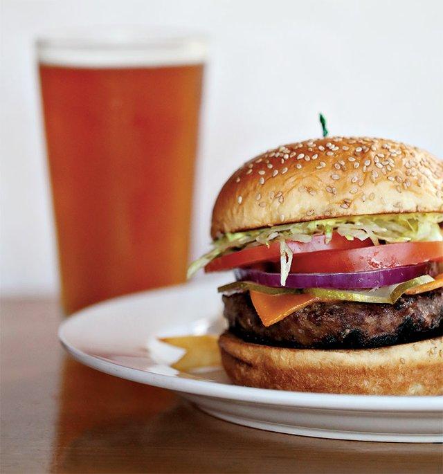 Bear Creek Cheeseburger