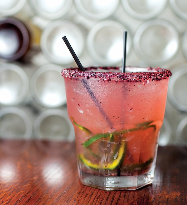 Roasted  Poblano Ginger Margarita from My Tequila House