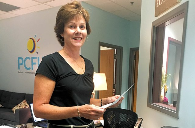 Nancy Hunt, Pediatric Cancer Foundation of the Lehigh Valley volunteer