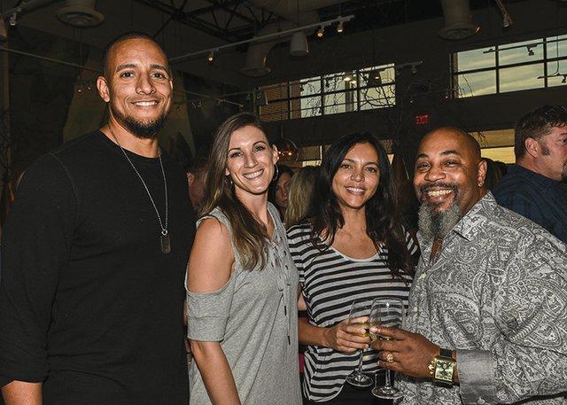 Sammy and Brianne Barona, Lee Barona and Michael Pierce.jpg