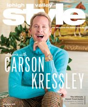 December 2018 Cover of Lehigh Valley Style Carson Kressley